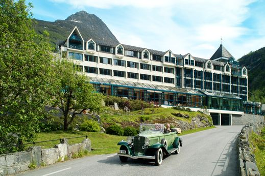 Union hotell Geiranger